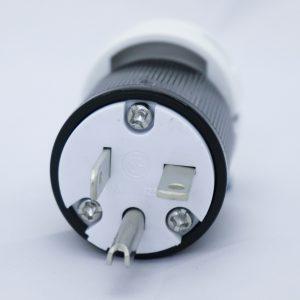 Plug with Cord Grip, 110VAC